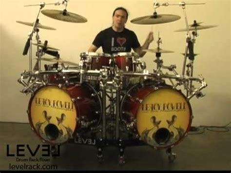 level drum rack riser christopher williams
