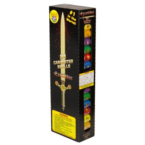 Excalibur Artillery Shells Kit 24/Ct