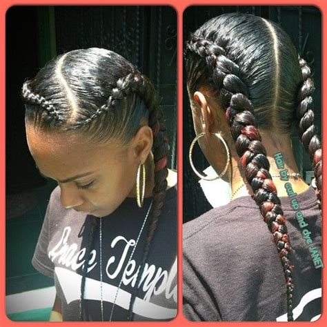 black hair styles for for side frence braids french braid hairstyles pictures of elegant french braid
