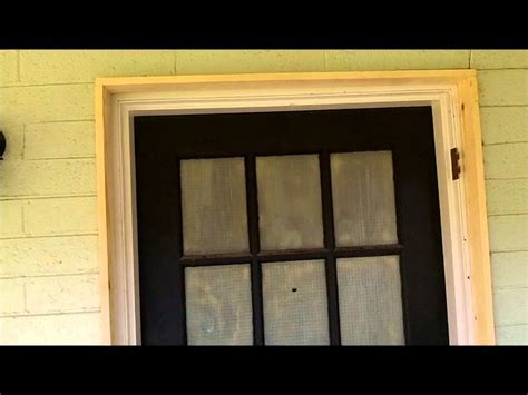Exterior Door Trim Molding Front Door Entry Way Exterior Molding Wmv
