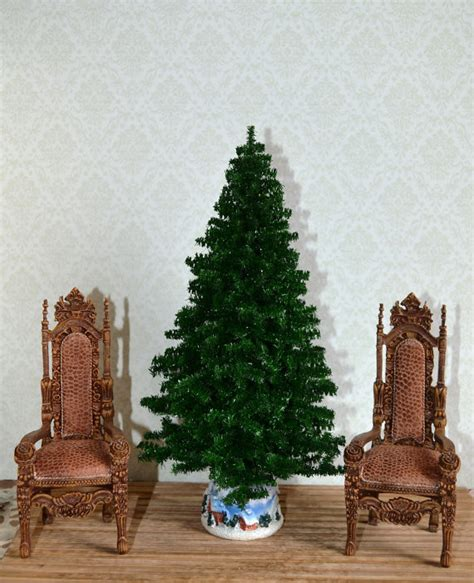 dollhouse miniature christmas tree dollhouse christmas tree