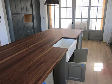 take care regarding walnut butcher block countertops med