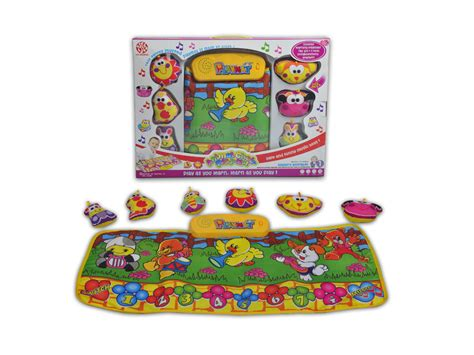 Playmat Bermain Animal Hopscotch Baterai playmat animal hopscotch mat baby lilliput international