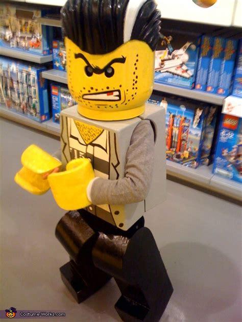 bad guy lego minifigure costume creative diy costumes
