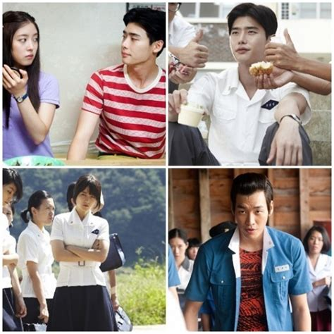 film lee jong suk dan park bo young quot hot blooded youth quot movie stills starring lee jong suk and