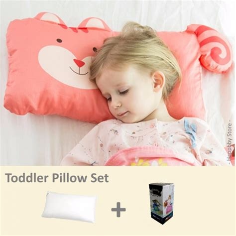 When Should Toddler A Pillow by Milo Gabby Toddler Pillow Pillowcase Set Squirrel