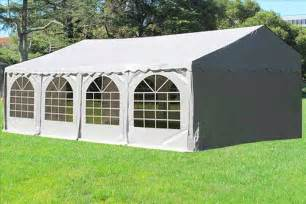 Canopy Tent 26 X 16 White Pvc Tent Canopy