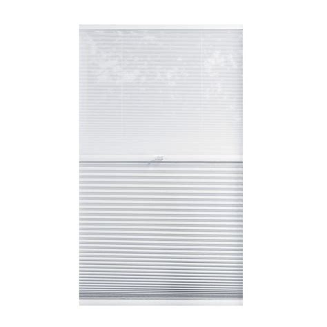 home decorators blinds home depot home decorators collection sheer white shadow white 9 16