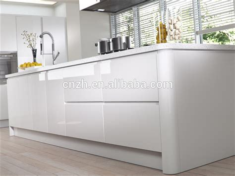 High Gloss Lacquer Kitchen Cabinets 2 Pac High Gloss White Lacquer Kitchen Cabinet For Modern Kitchen Designs Buy High Gloss