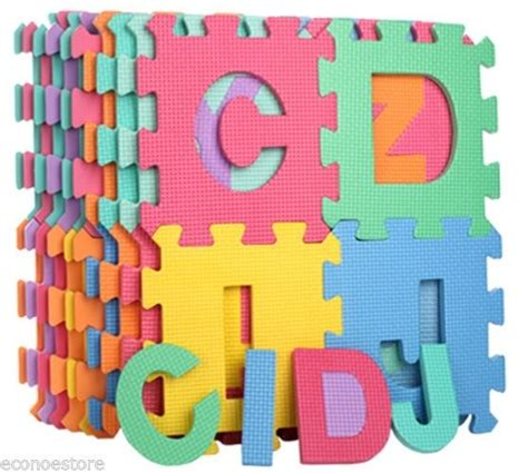 Abc Floor Mat by 26pc Learning Alphabet Letter Puzzle Foam Abc Floor Mat Baby Safety Play Mats Ebay