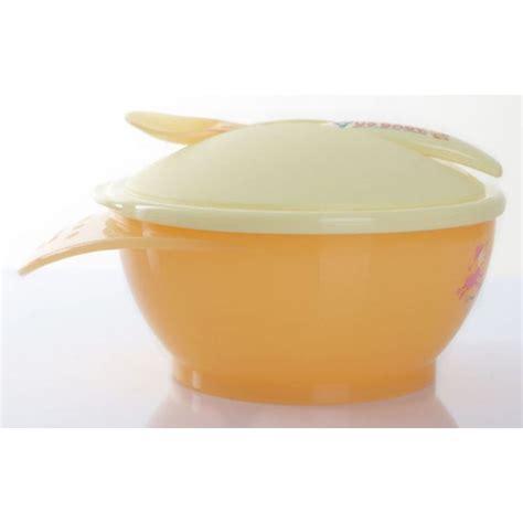 jual us baby heat sensing bowl and spoon murah
