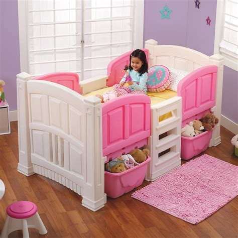 twin bed for girl step 2 girl s loft storage twin bed ebay