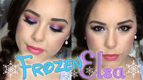 queen elsa makeup tutorial frozen queen elsa halloween makeup tutorial youtube