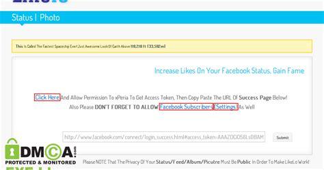 tutorial blogger cara agar status facebook banyak like