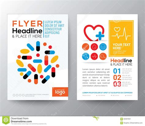 Health Care And Medical Poster Brochure Flyer Design