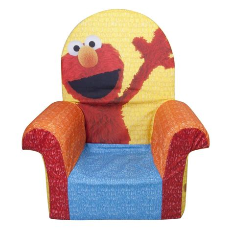 Elmo Chairs by Spin Master Marshmallow Furniture High Back Chair Elmo