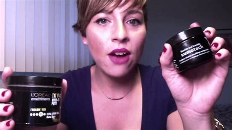 Hair products I use for my Pixie (short) Haircut   YouTube