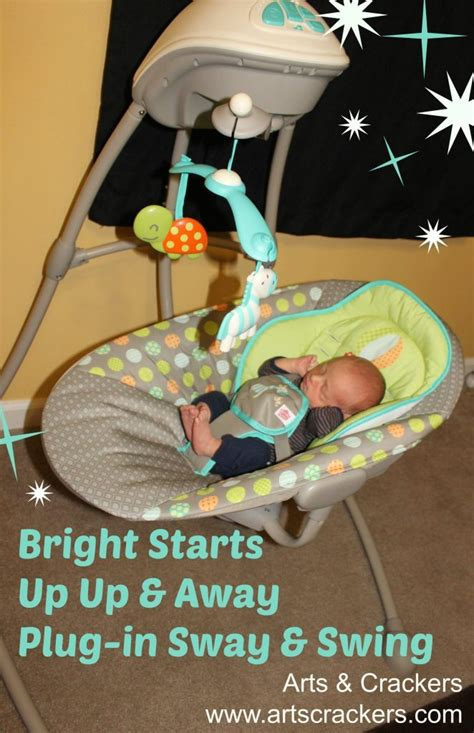 bright starts swing review bright starts up up away plug in sway swing review