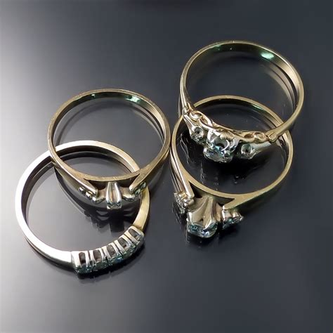 reuse gold to make new jewelry custom jewellery design before and after zoran designs