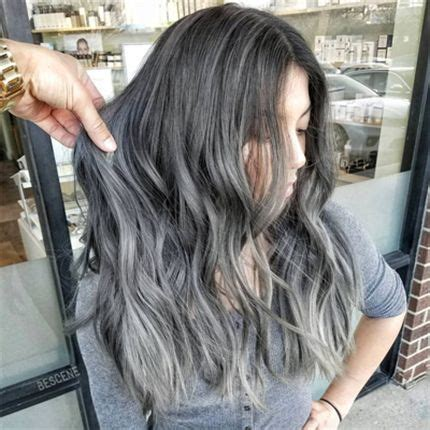 best formula for trendy graycolor charcoal grey hair color formula best hair color 2017