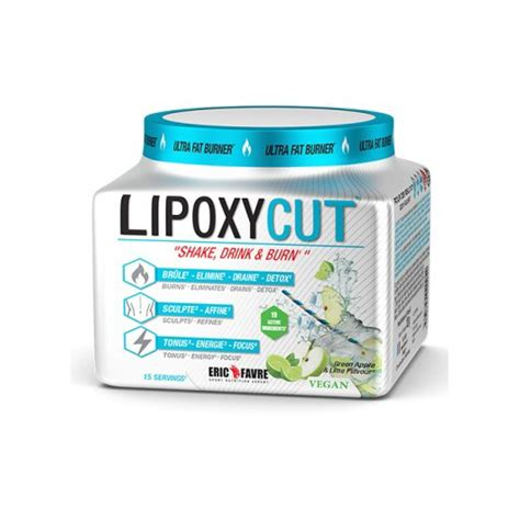 Slim Detox Eric Favre by Lipoxycut Eric Favre Nutrition