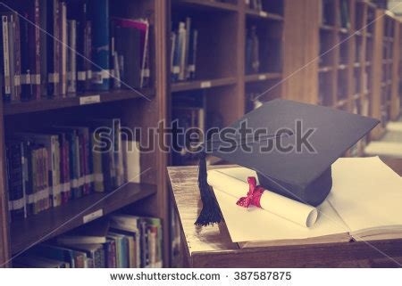 Room Book Preview Graduation Cap Books Step Library Roomeducation Stock