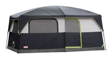 bass pro ceiling fans coleman 174 prairie 9 person cabin tent portable