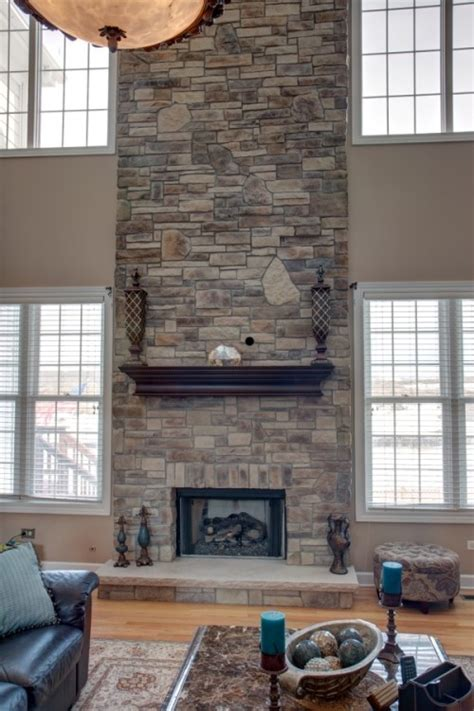 wisconsia tile remodeling your two story fireplace