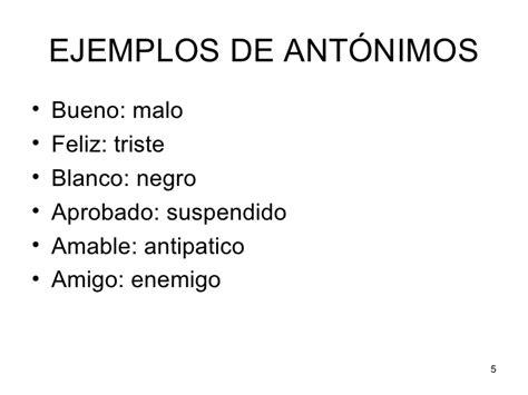 significado de antonimos y ejemplos de antonimos postea mejor tema 4 sinonimos