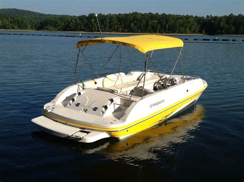 stardeck boat starcraft stardeck aurora 2000 boat for sale from usa