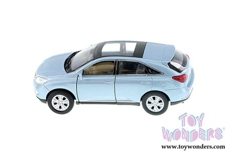 lexus rx 450h suv w sunroof by welly 4 5 quot diecast model