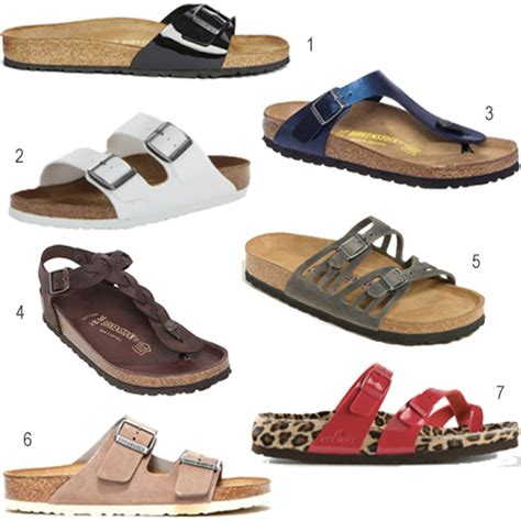 birkenstock type sandals get the look every type of birkenstock sandal stylecarrot