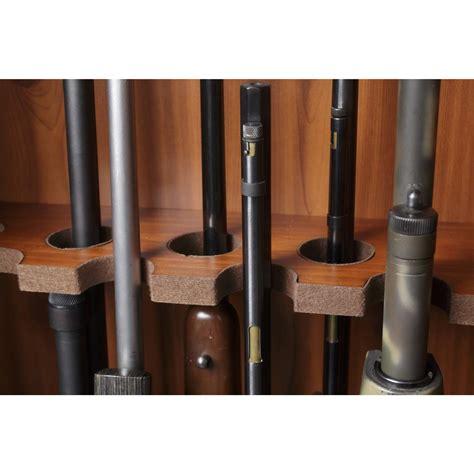 barrel rest for gun cabinet 8 gun cabinet american furniture classics 654914 gun
