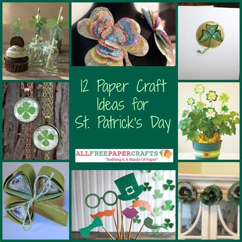 Day Paper Craft Ideas - 12 paper craft ideas for st s day