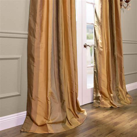 silk stripe drapes buy el dorado silk stripe curtains drapes