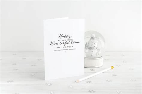 hubby christmas wishes  gorgeous creations notonthehighstreetcom
