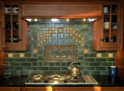 Handmade Tiles For Backsplash - terra firma ltd handmade arts and crafts tile