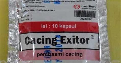 Obat Cacing Exitor obat untuk cacing sapi produk obat unggas ternak besar ikan lengkap