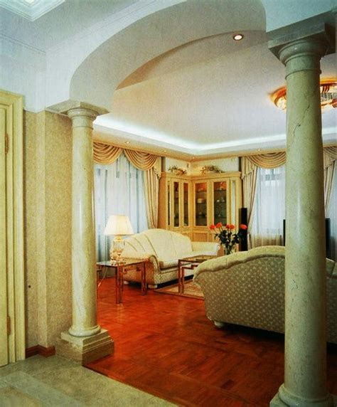 pillar designs for home interiors 35 modern interior design ideas incorporating columns into spacious room design