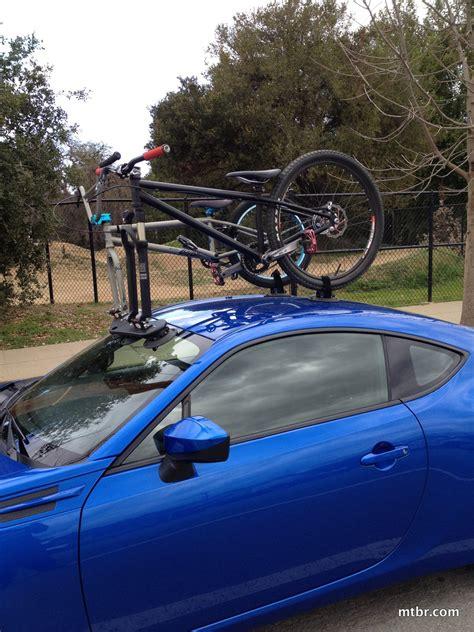 Brz Roof Rack by Review Seasucker Mini Bomber Suction Cup Bike Rack Mtbr