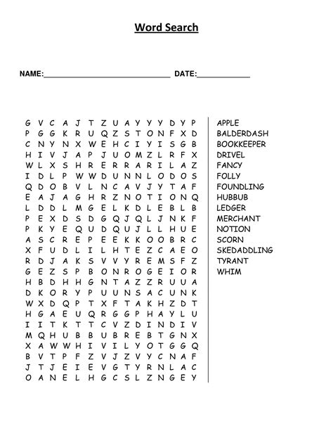 large print word games printable 7 best images of printable large print word finds large