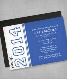 high school graduation invitation template print