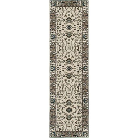 carpet kensington jacobean border ivory 2 ft 7 in x