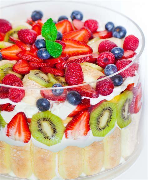 mixed fruit mixed fruit trifle tatyanas everyday food