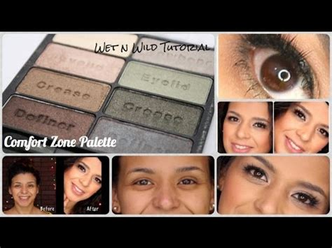 comfort zone tutorial wet n wild comfort zone wearable green step by step