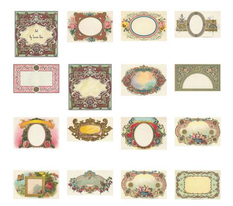 antique labels template vintage label templates worldlabel