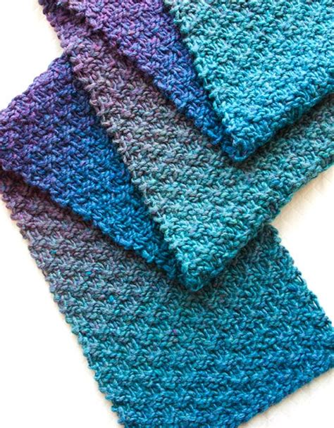 9 free scarf patterns in knit or crochet
