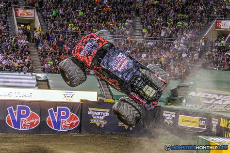 monster truck jam las vegas monster jam world finals vii freestyle gallery set four