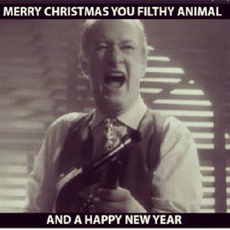 merry chrisrmas  filthy animalhappy  year home  merry christmas ya filthy