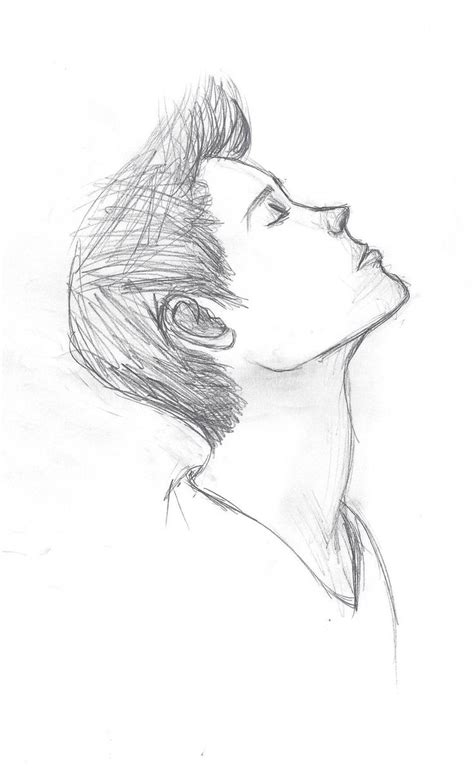 25 best ideas about simple easy pencil sketch ideas easy pencil drawings of boys